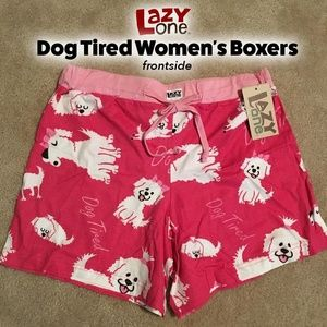 Dog Tired Women's Boxers 🐶💝